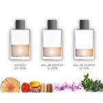 Differenza Eau de parfume, Eau de toilette e Extrait de Parfum