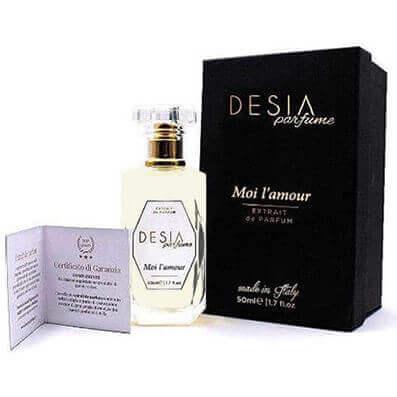 Desja extrait de parfum Moi l'amour pour femme