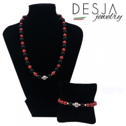 Completo collana e bracciale donna Rouge Diamond