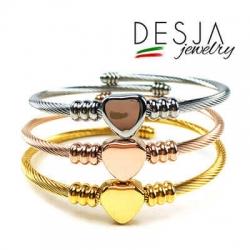 Bracciale Delaney in acciaio inossidabile in tre colori