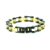 Bracciale gold black
