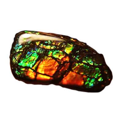 Ammolite pietra preziosa | Desja gioielli