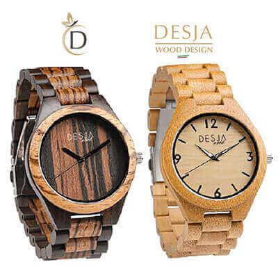Orologio da polso in legno originale