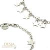 Bracciale donna in argento 925 con stelline | Stars