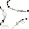 Braccialetto uomo donna rosario in argento 925 | Ruth