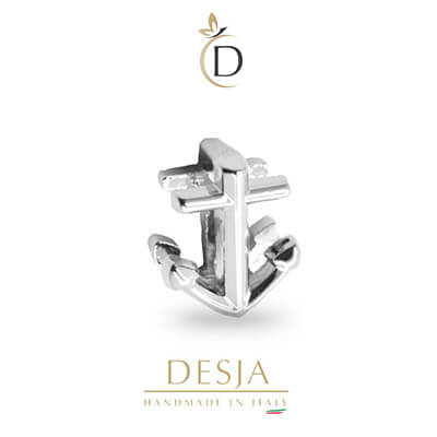 Charme per bracciale Ajsed - Ancora color argento