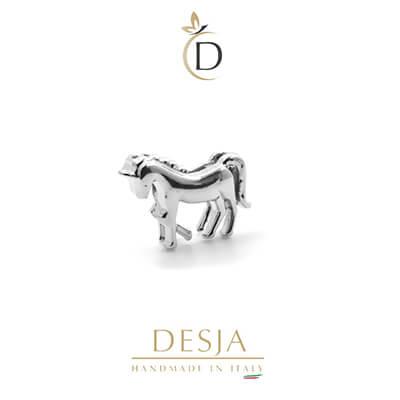 Charme per bracciale Ajsed - Unicorno color argento