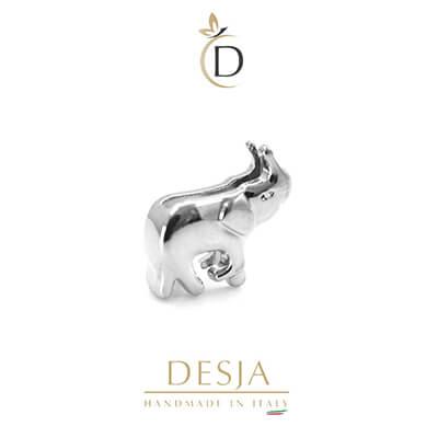 Charme per bracciale Ajsed - Elefantino color argento
