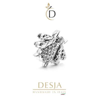 Charme per bracciale Ajsed - Ape regina color argento