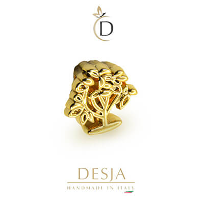 Charme per bracciale Ajsed - Albero della vita color oro