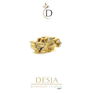 Charme per bracciale Ajsed - Stelline marine color oro