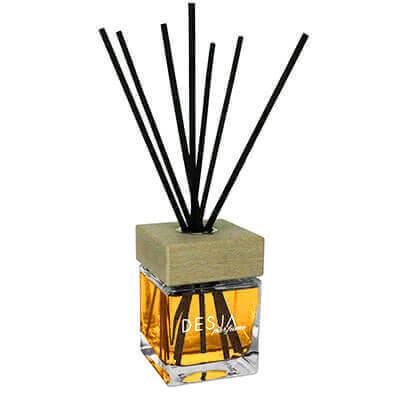 Profumo ambiente WHISKEY 200 ML con bastoncini rattan
